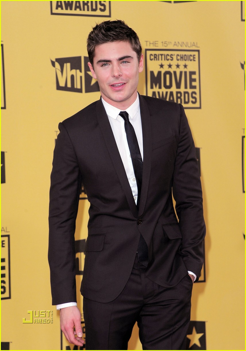 zac efron critics choice awards 2010 01