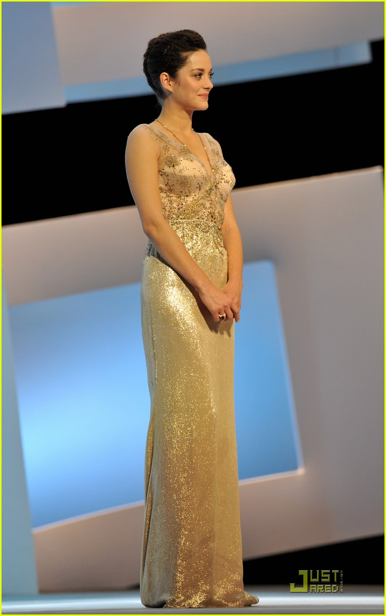 marion cotillard cesar film awards 2010 152430838