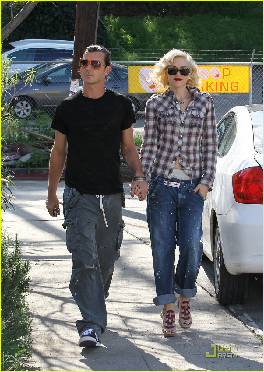 gwen stefani rossdale lunch lovebirds 012427630