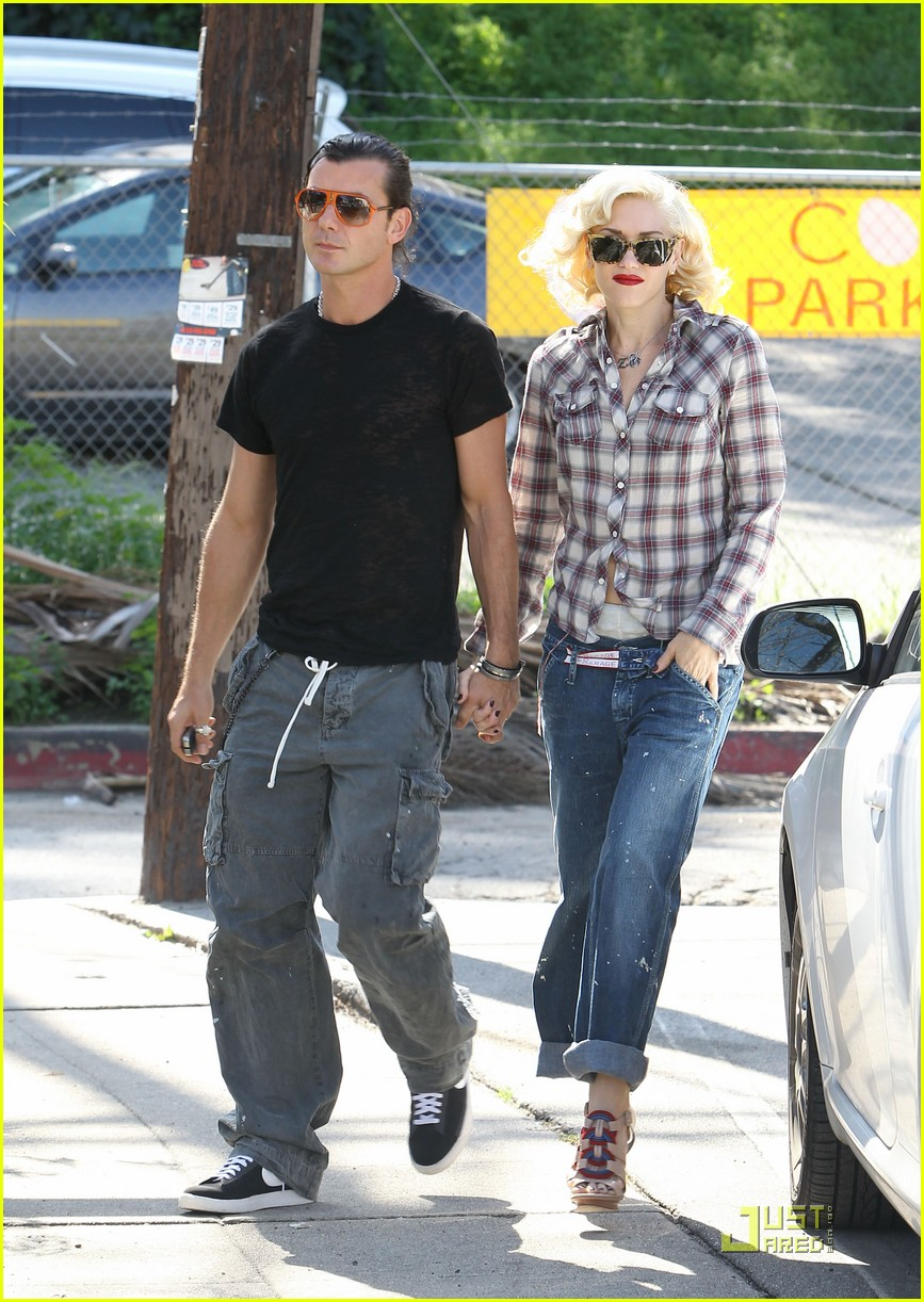 gwen stefani rossdale lunch lovebirds 12