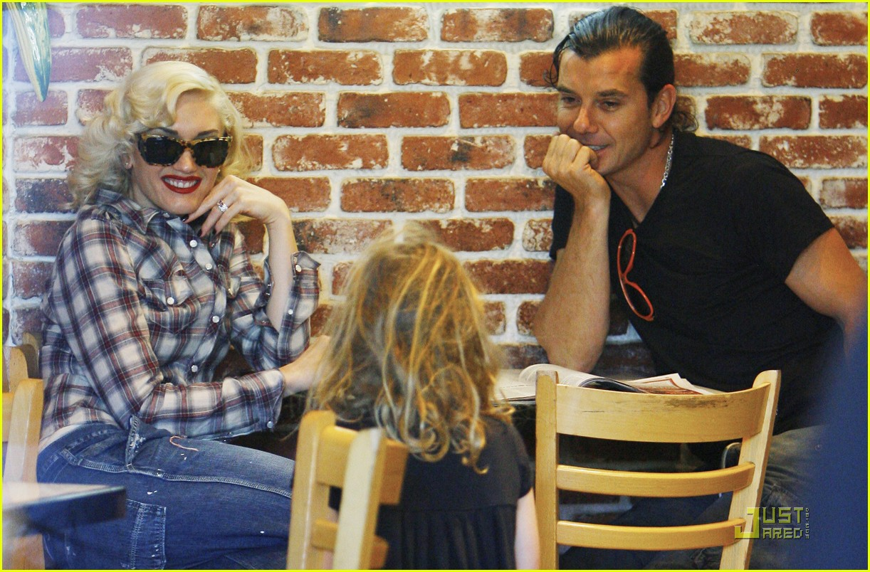 gwen stefani rossdale lunch lovebirds 22