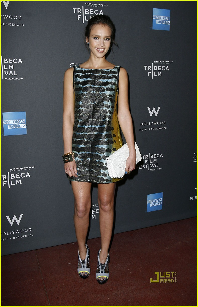 jessica alba tribeca film festival party 06