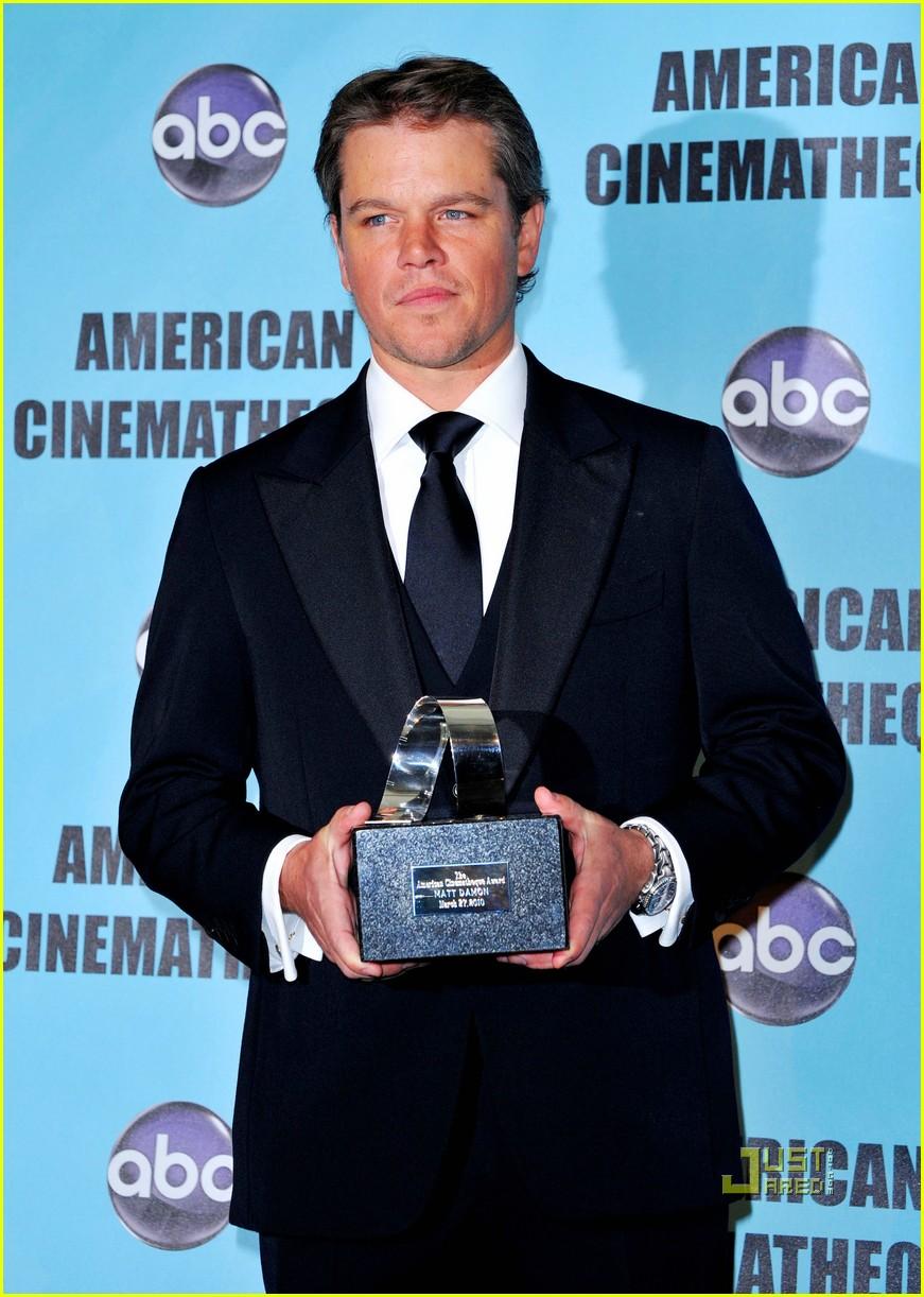Full Sized Photo of matt damon american cinematheque award 19 | Photo 2438180 | Just Jared Matt Damon