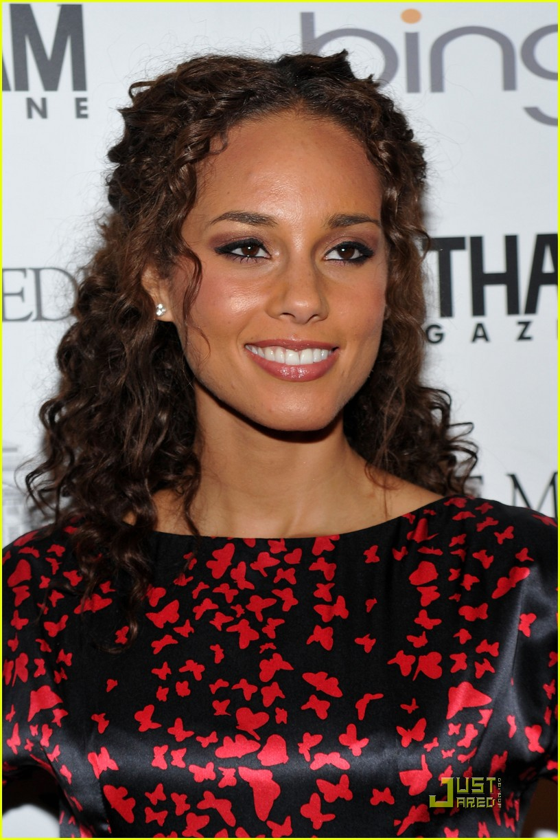 alicia keys steps out with swizz beatz 14