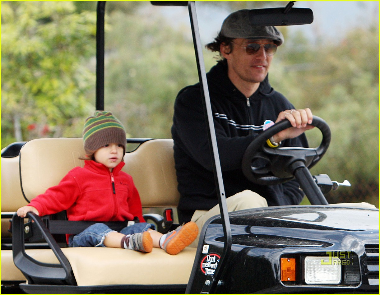 levi matthew mcconaughey golf cart 10