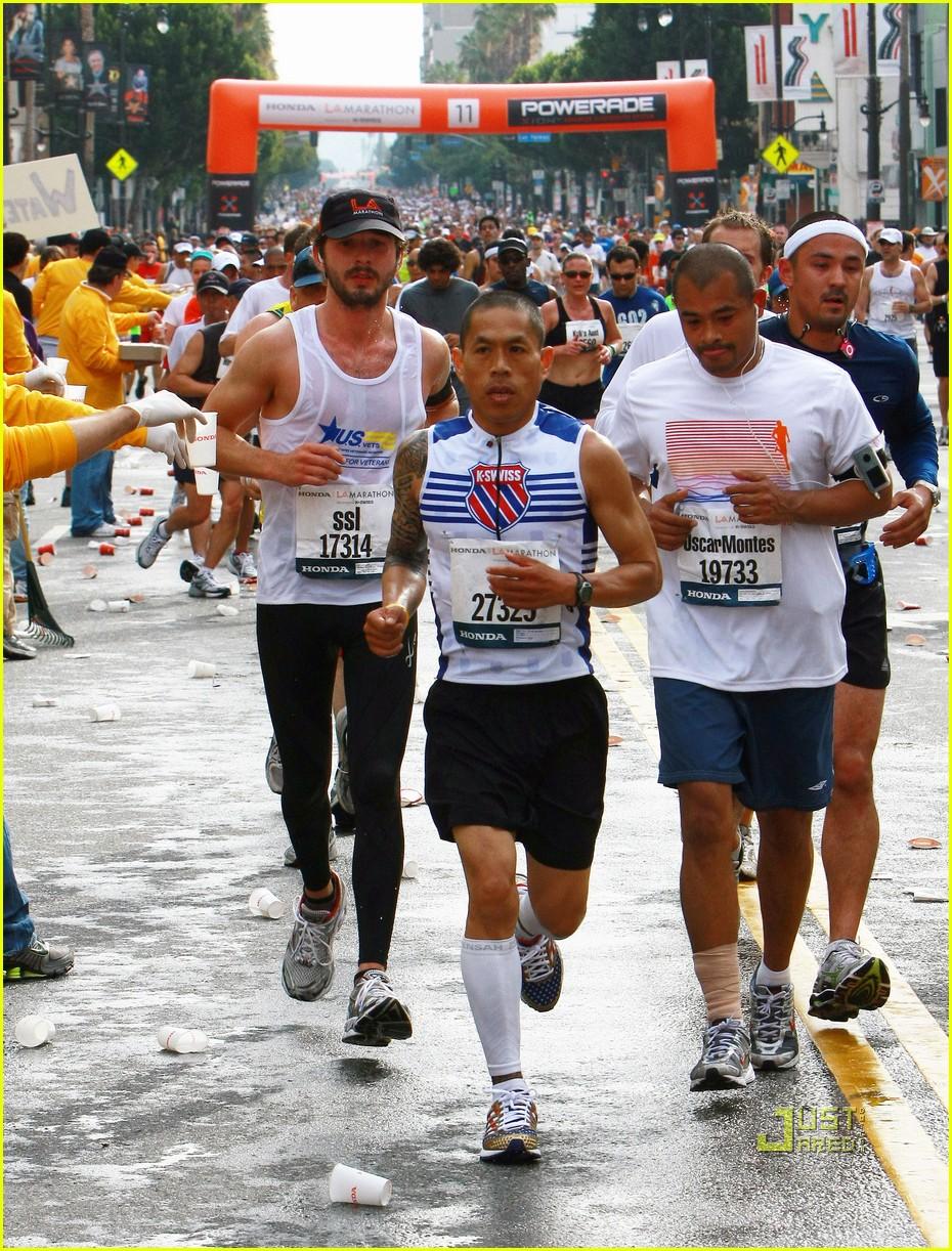 Shia LaBeouf Running L...