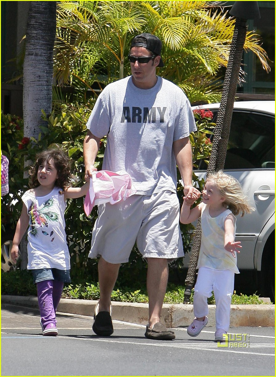 adam sandler sadie friend playing in hawaii 032445766