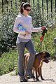 jessica biel walking dogs 04