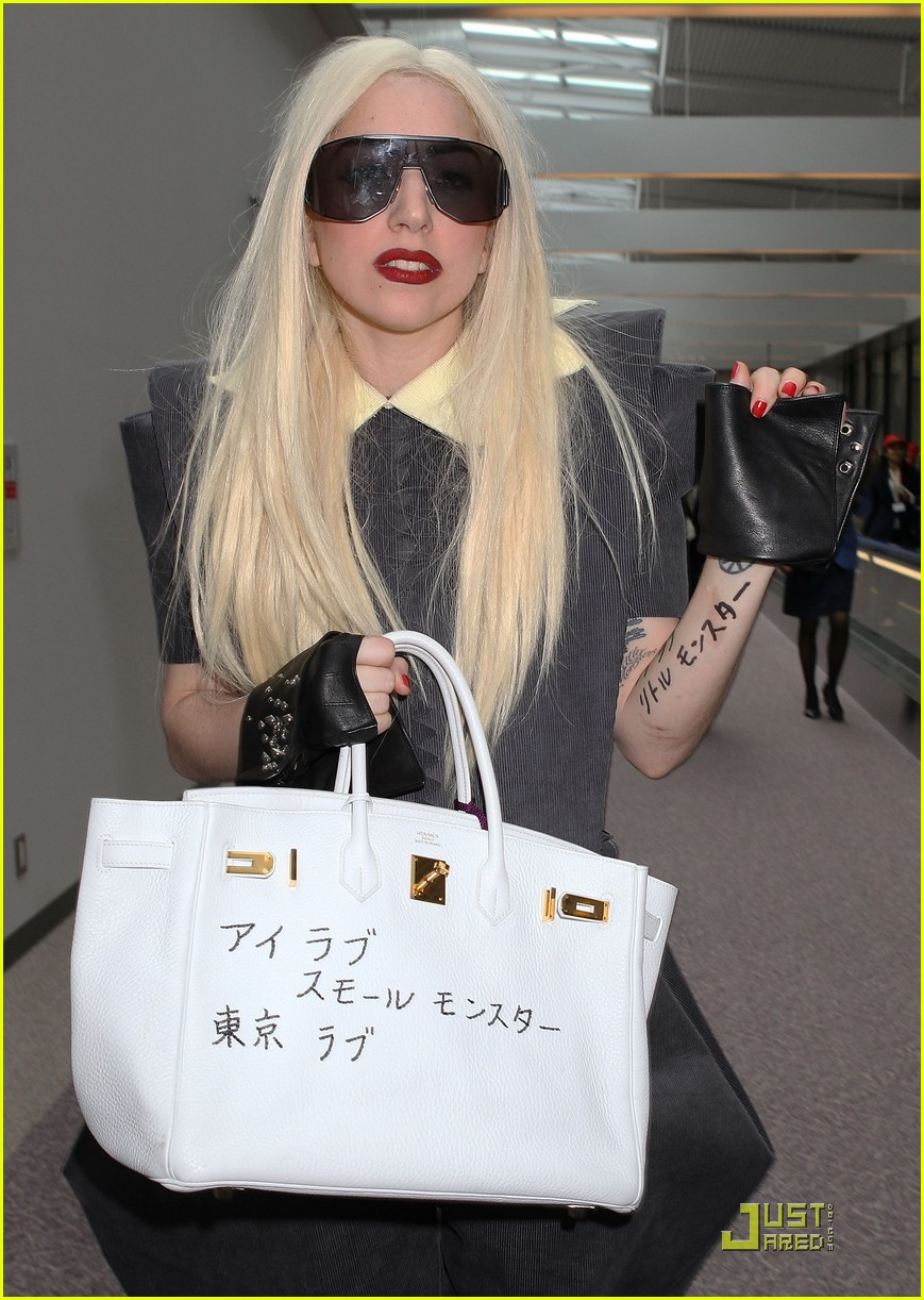 lady gaga is new to narita 112442101