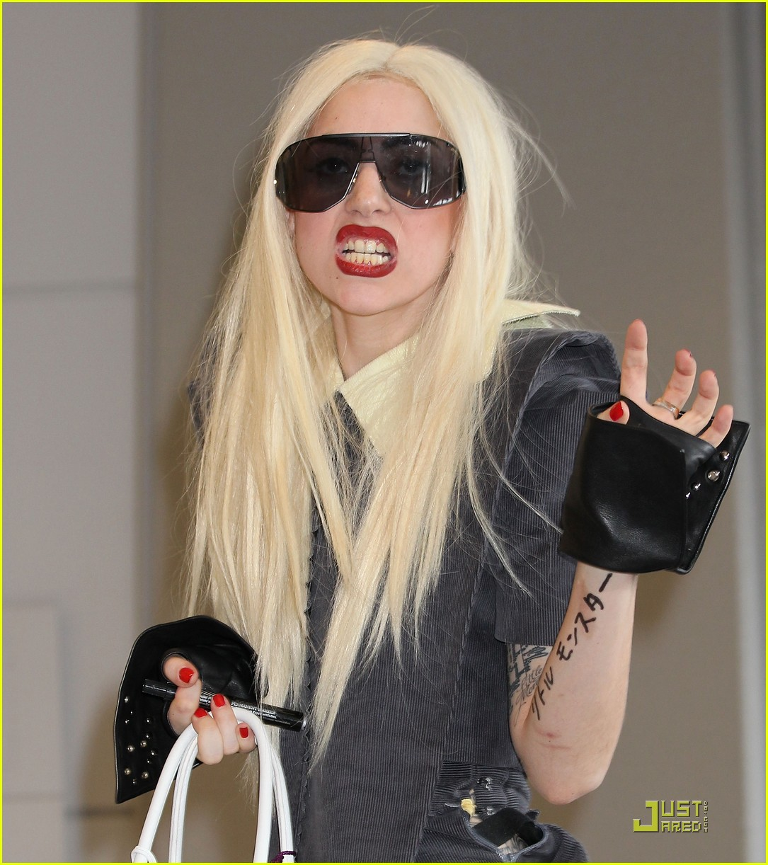 lady gaga is new to narita 13