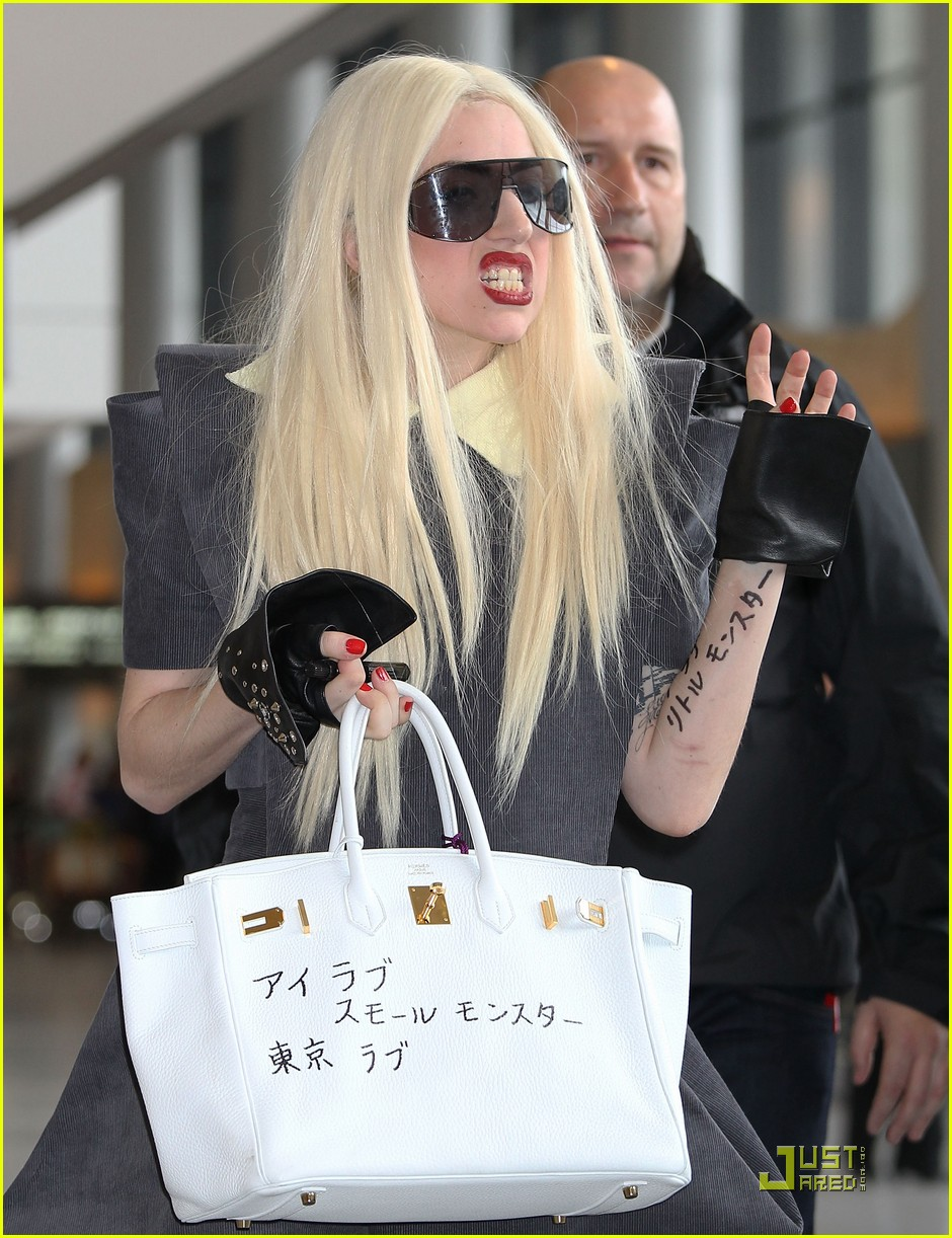 lady gaga is new to narita 362442126