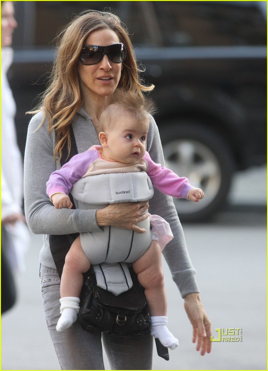 sarah jessica parker baby new york city 012440122