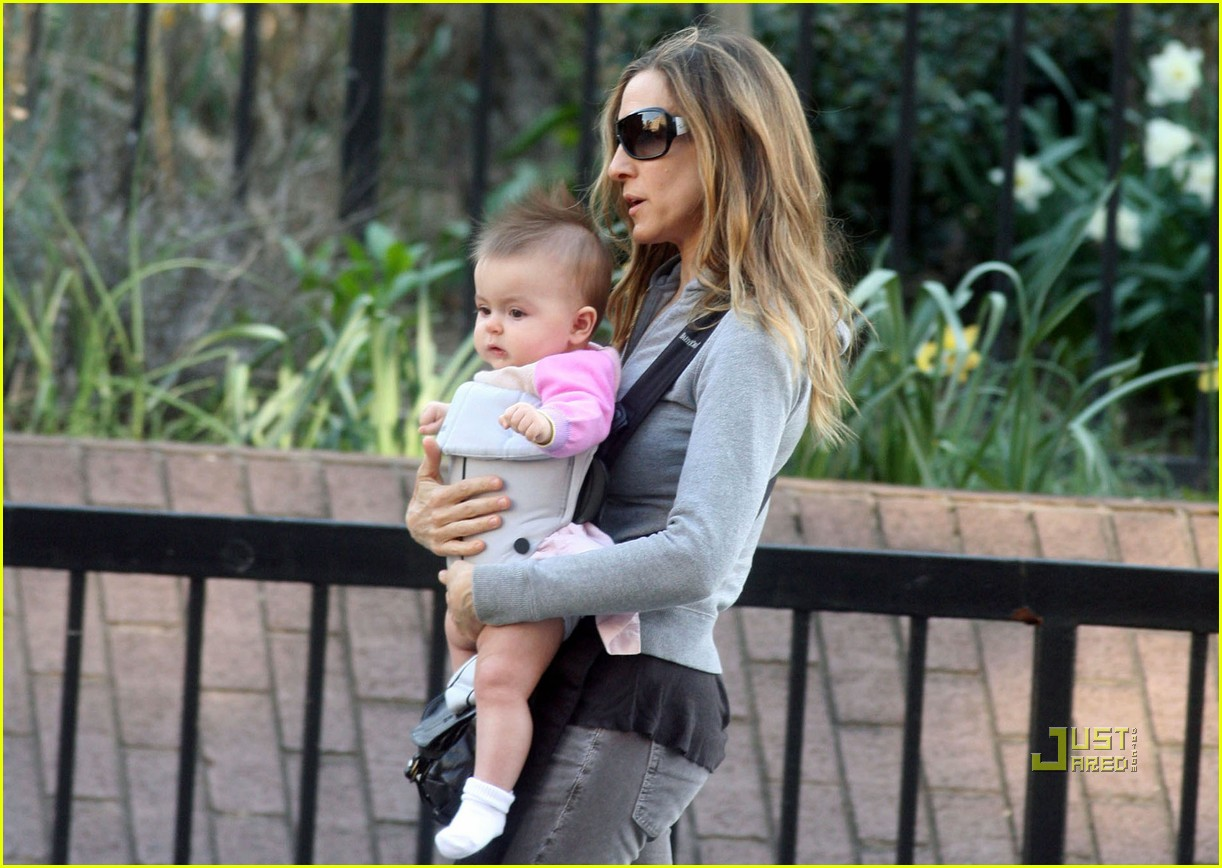 sarah jessica parker baby new york city 06