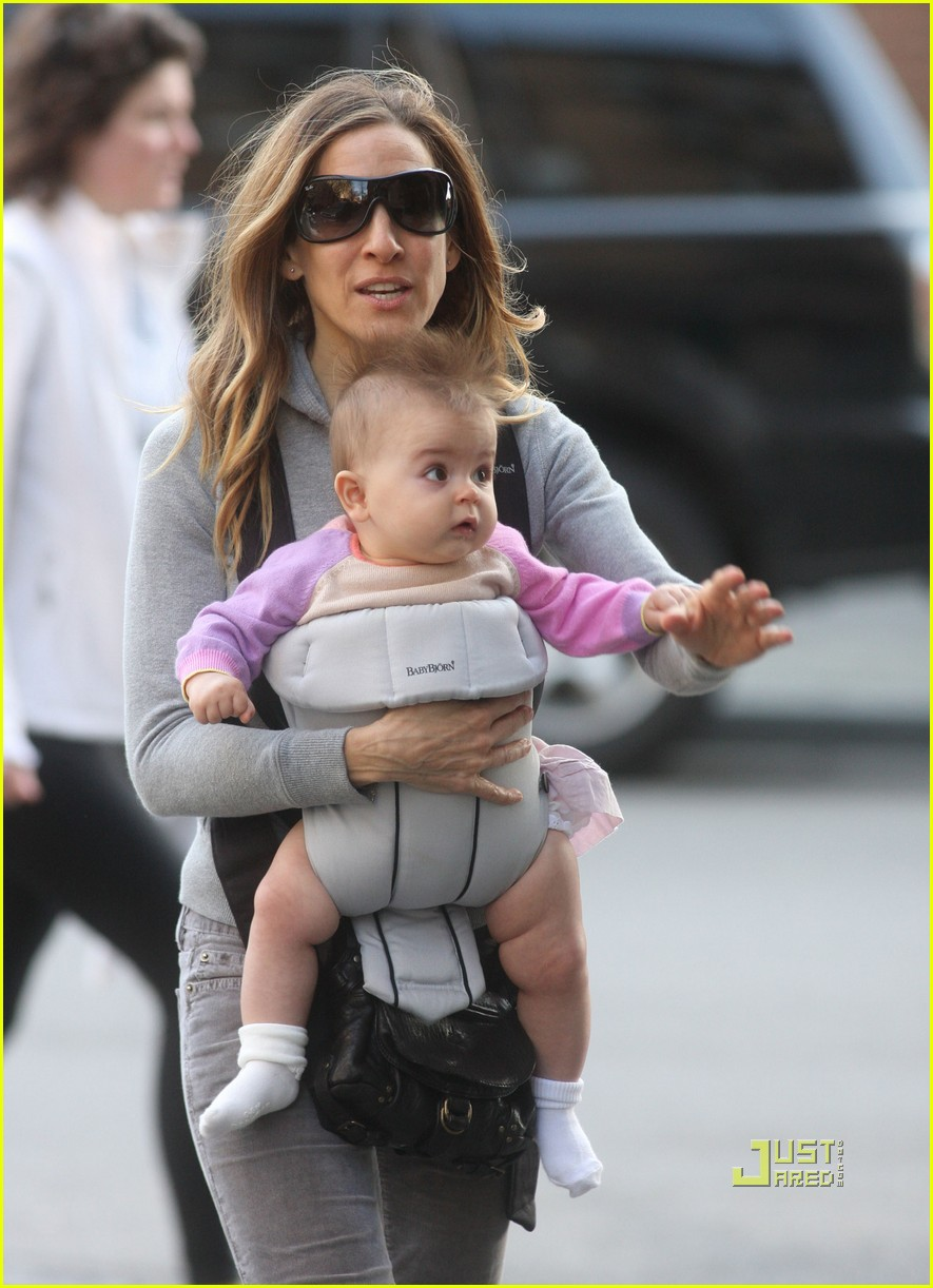 sarah jessica parker baby new york city 082440129