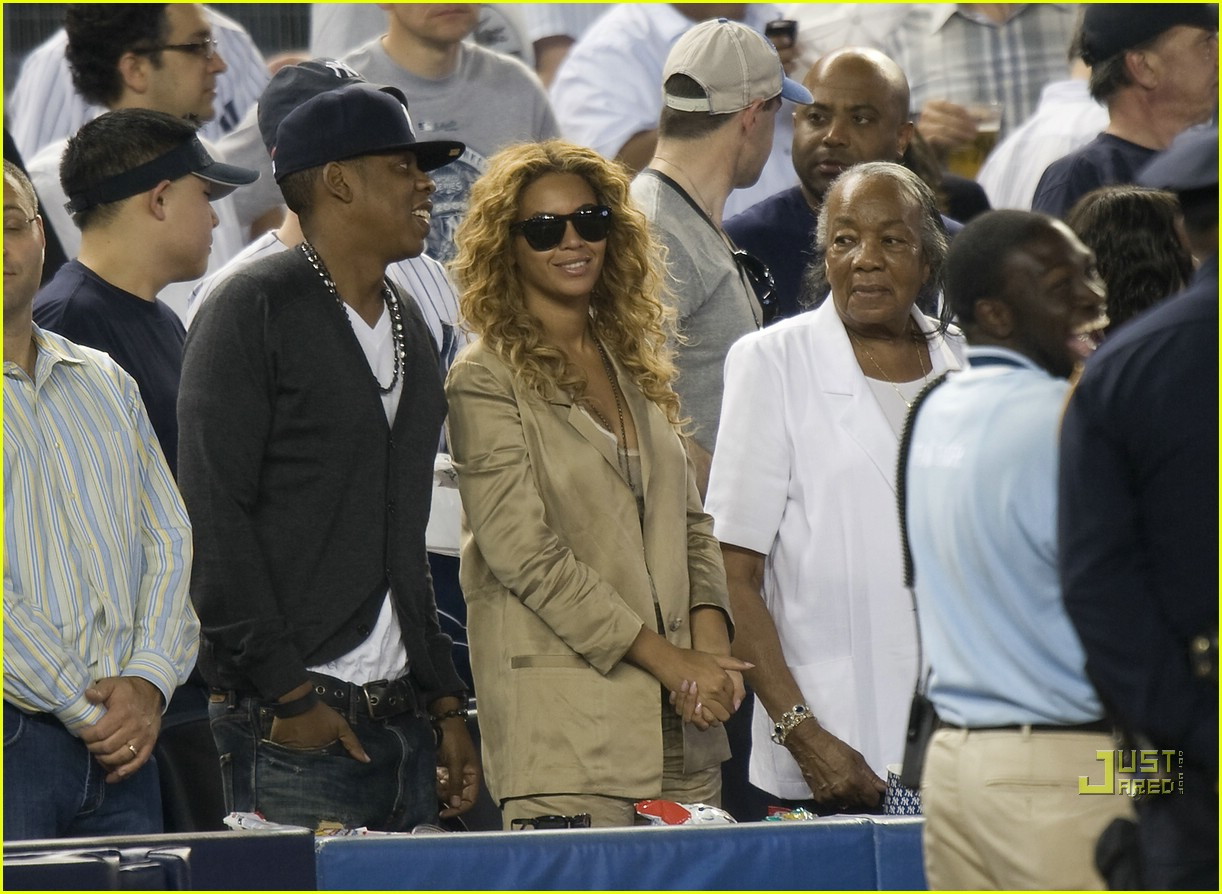 beyonce jay z mother in law yankee 07