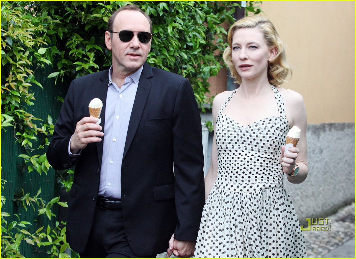 cate blanchett kevin spacey iwc watch ad 02