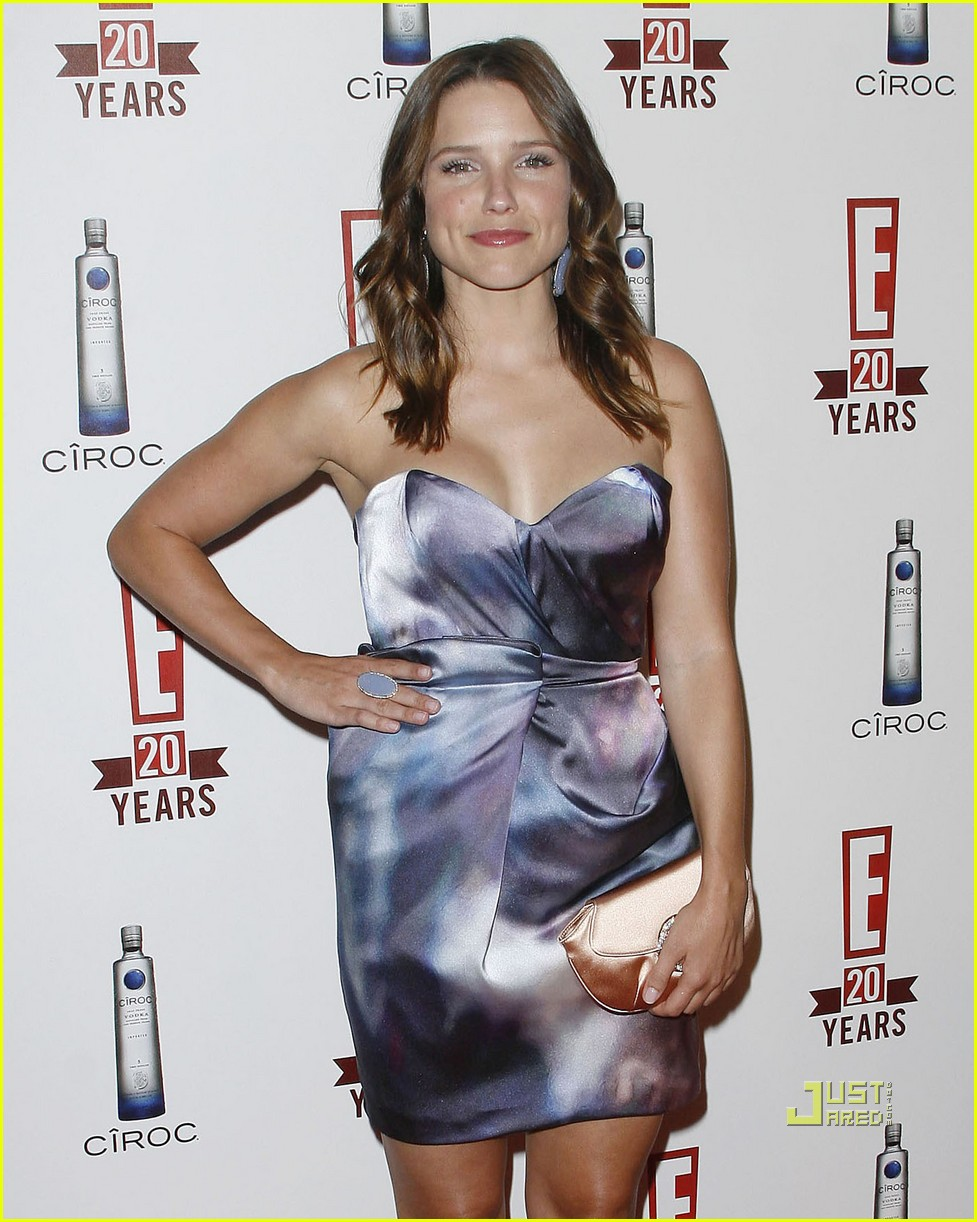 sophia bush austin nichols red carpet 13