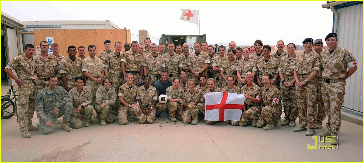 david beckham boosts british troop morale 15