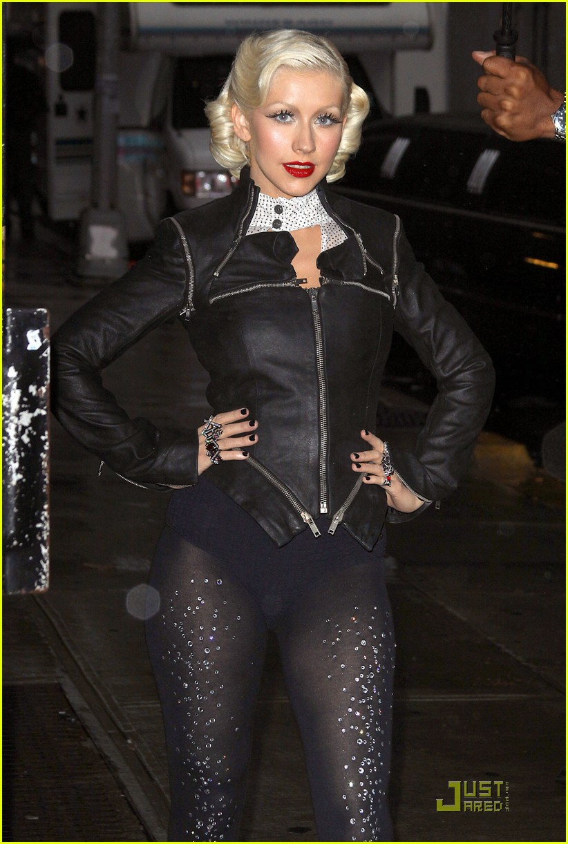 christina aguilera lost letterman 012457638