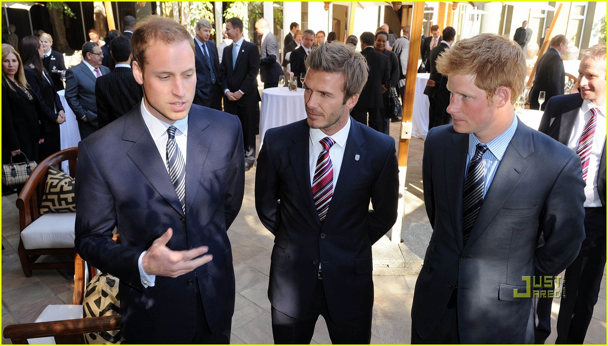 david beckham prince william harry 18