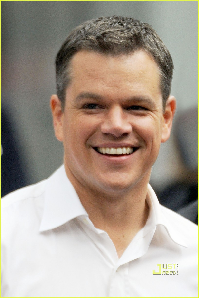 Matt Damon Reshoots with Matt Damon