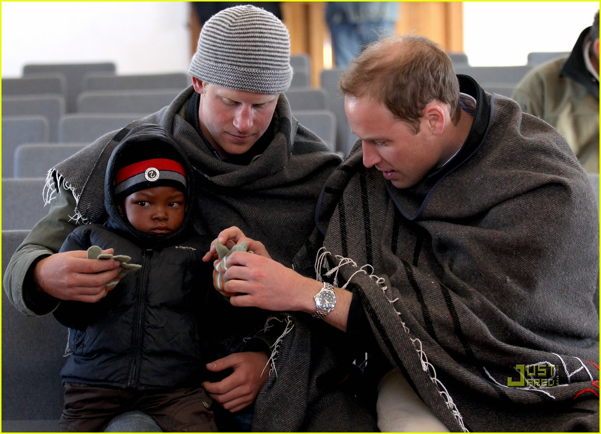 prince harrry lesotho prince william 05
