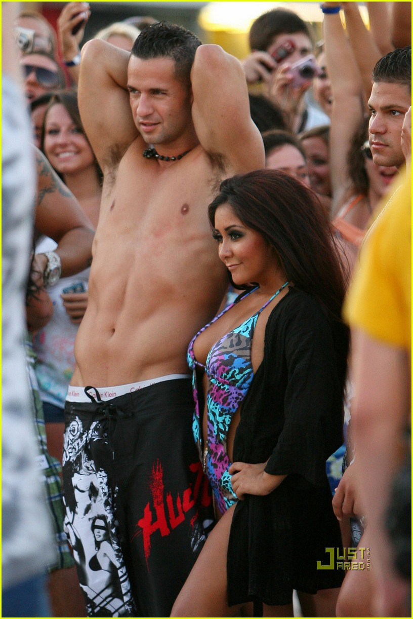 jersey shore cast beach photo shoot 01