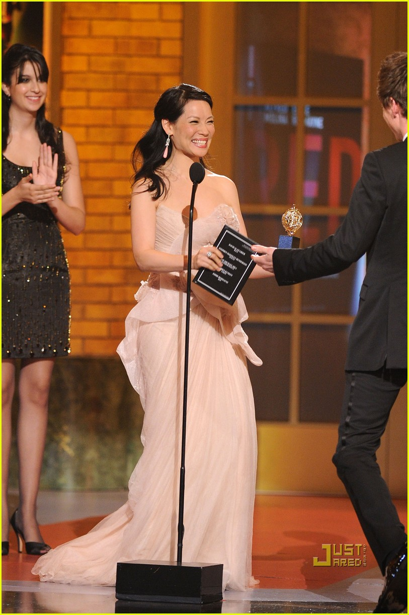 lucy liu tony awards 2010 04