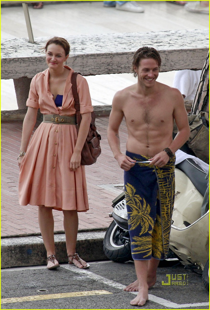 Leighton Meester Luke Bracey Monte Carlo Mission Photo 2461821 Leighton Meester Luke Bracey Pictures Just Jared