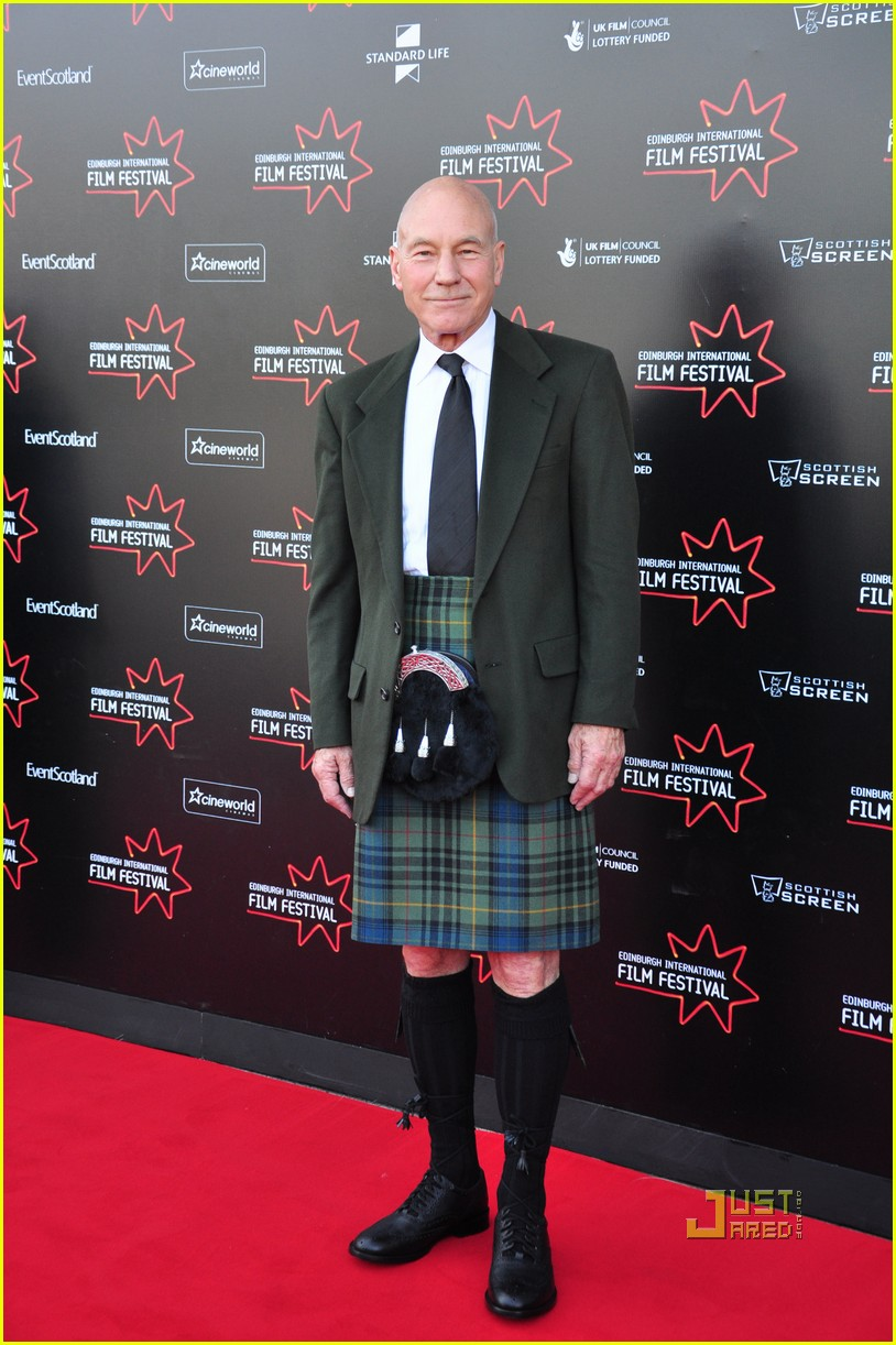 patrick stewart kilt edinburgh film festival 02