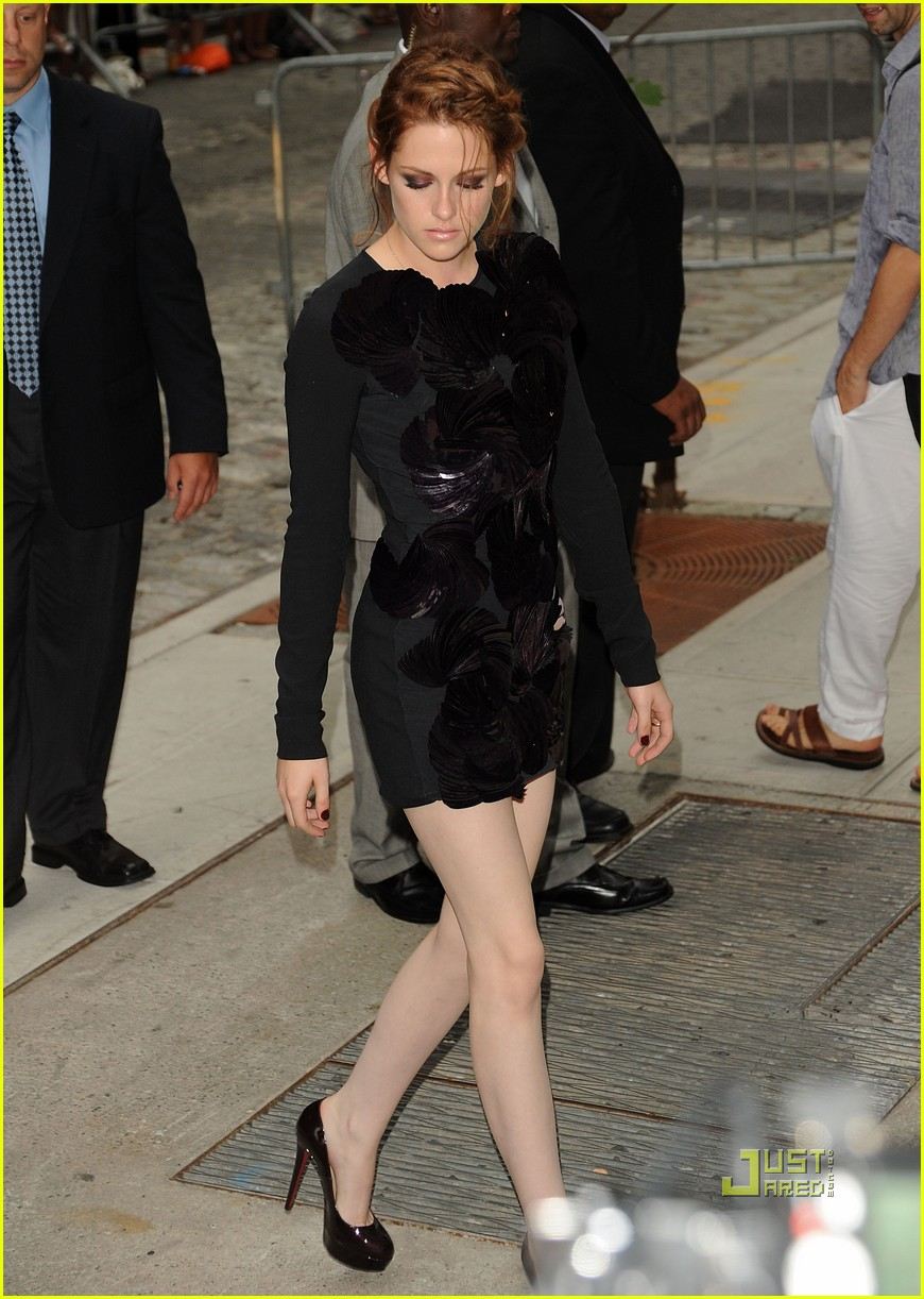 kristen stewart nyc letterman cinema society 20