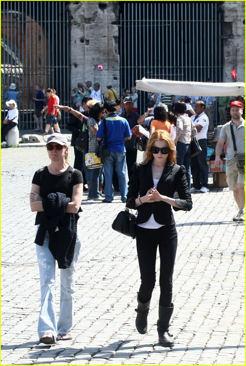 evan rachel wood rome tourist 102462430