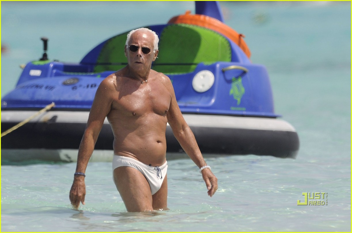 giorgio armani speedo in his seventies 01
