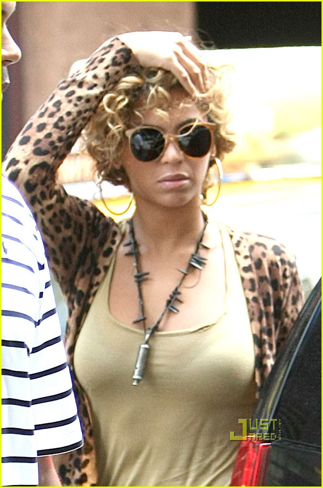 beyonce leopard print top nyc 01