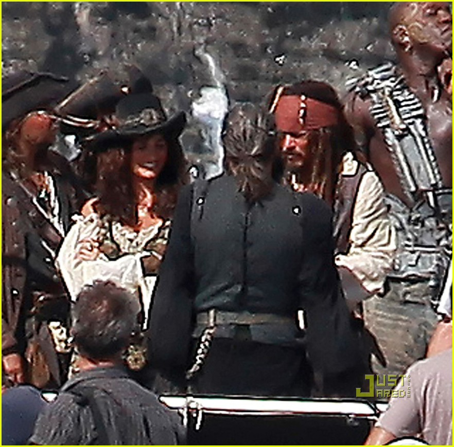 johnny depp penelope cruz pirates 4 oahu 08