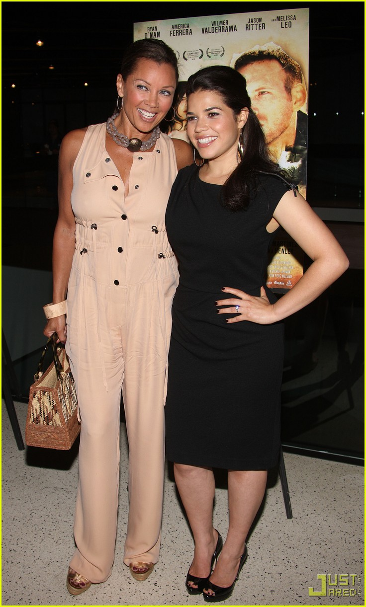 america ferrera vanessa williams camilla belle the dry land premiere 03