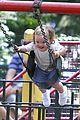 jennifer garner victor garber seraphina violet central park 02