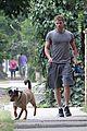 kellan lutz walking dogs grey shirt 01