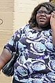 gabourey sidibe phone nyc 04