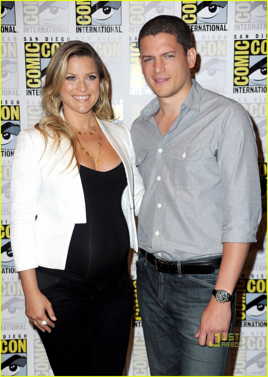 Wentworth Miller: Comic-Con With Ali Larter!: Phot