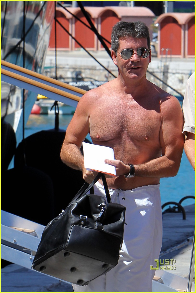 simon cowell chest hair 10