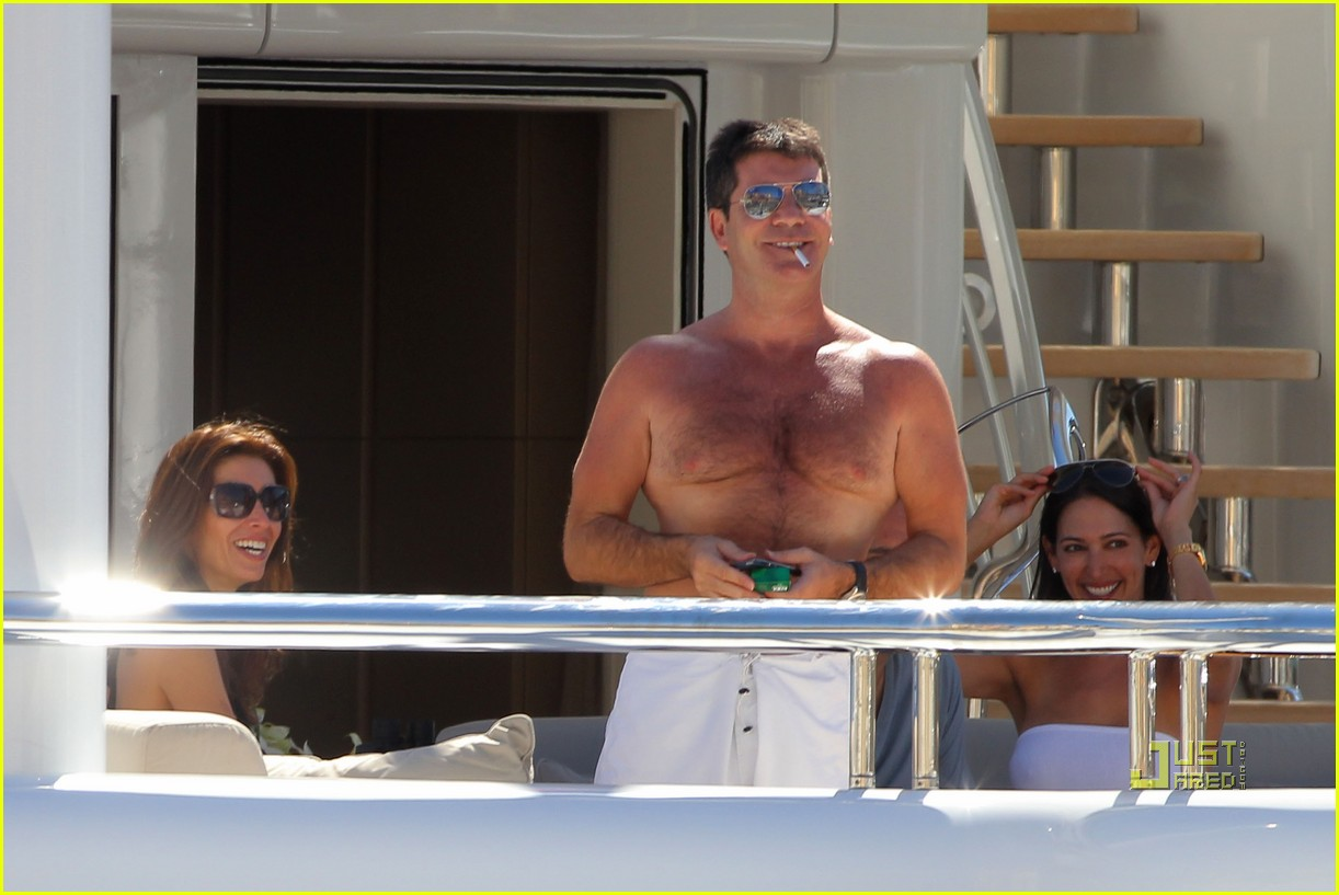 simon cowell chest hair 20
