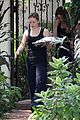 hilary duff errands silverlake food tray 03