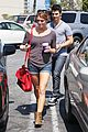ashley greene joe jonas grabs a cup 09