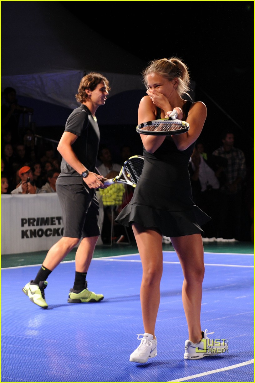 bar refaeli rafael nadal nike tennis primetime knockout 01