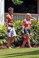 britney spears jason hot pink bikini 07