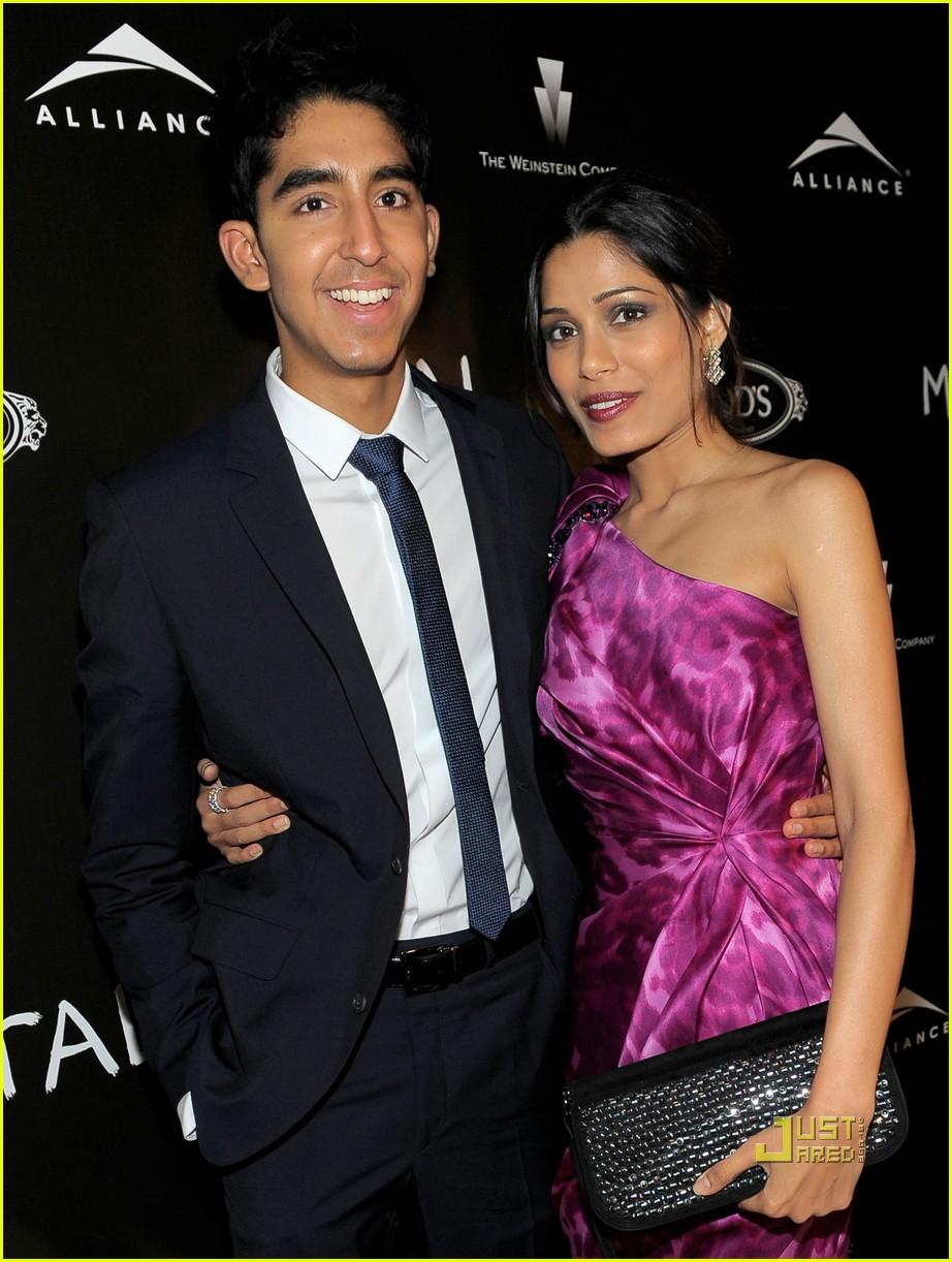 Freida Pinto & Dev Patel: Miral Mates!: Photo 2480062 ... Freida Pinto Dev Patel