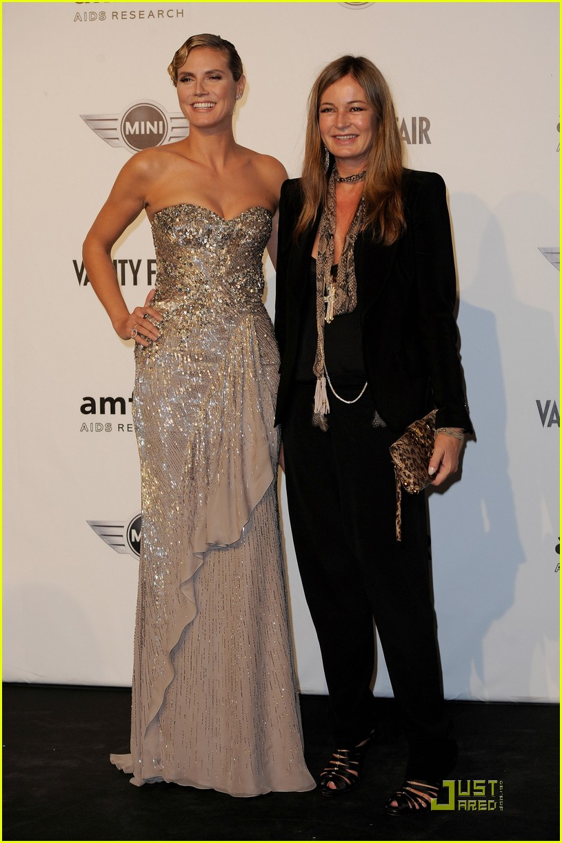 heidi klum amfar milano at milan fashion week 04
