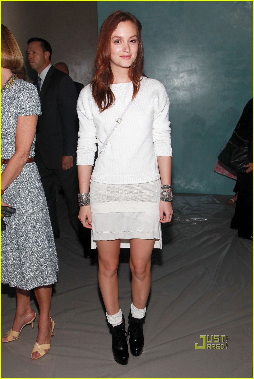 leighton meester derek lam ny fashion week 062479372