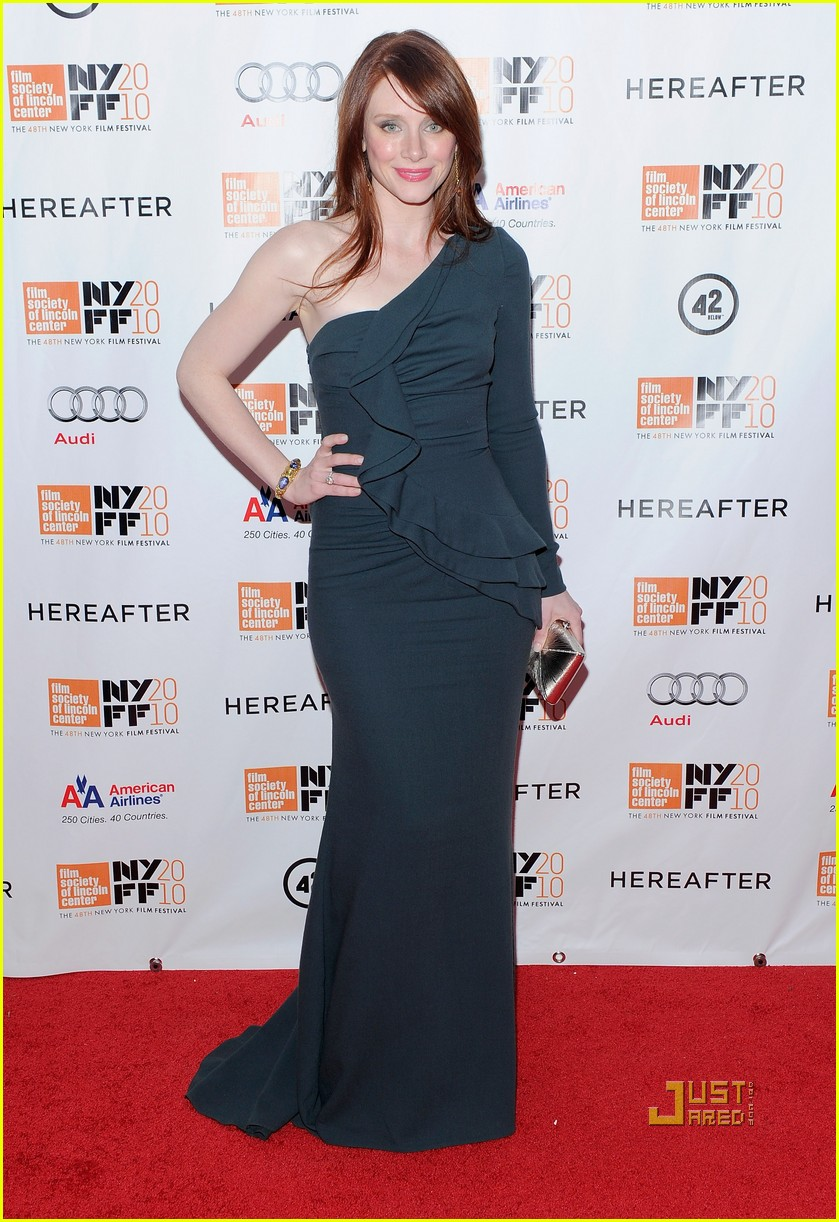 bryce dallas howard hereafter ny film festival 03